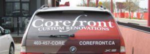 Vehicle Window Perforation